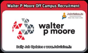 Walter P Moore Recruitment