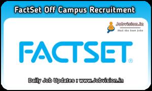 FactSet Recruitment