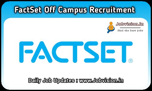 FactSet Off Campus Hiring 2021