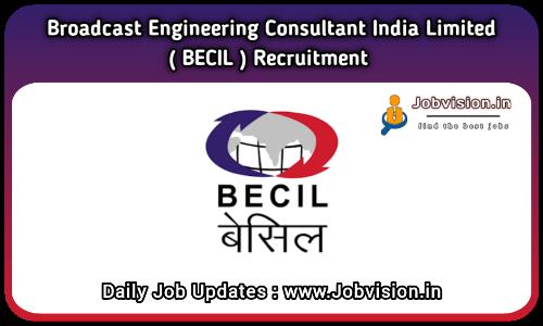BECIL Recruitment 2021