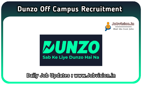 Dunzo Off Campus Drive 2021