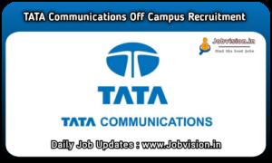 Tata Communications Recruitment