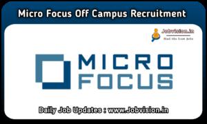 Micro Focus Recruitment