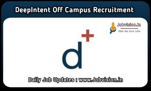 DeepIntent Off Campus Drive 2021