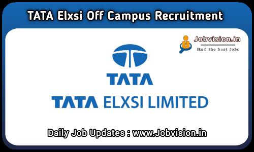 Tata Elxsi Recruitment 2021