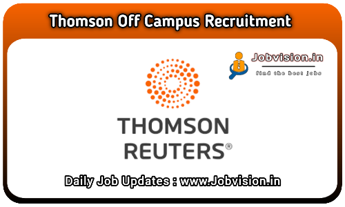 Thomson Reuters Off Campus Drive 2021