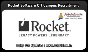 Rocket Software Off Campus drive