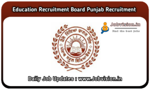 Punjab Education Recruitment