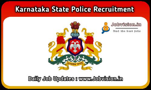 KSP Karnataka Recruitment 2021