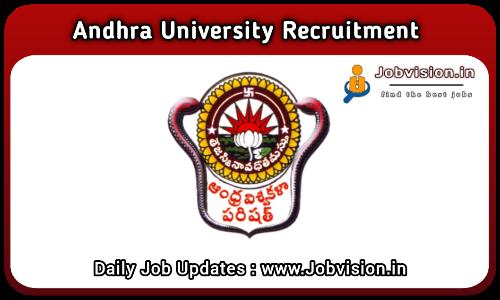 Andhra University Recruitment 2021