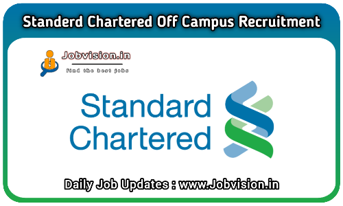 Standard Chartered Bank Off Campus Drive 2021