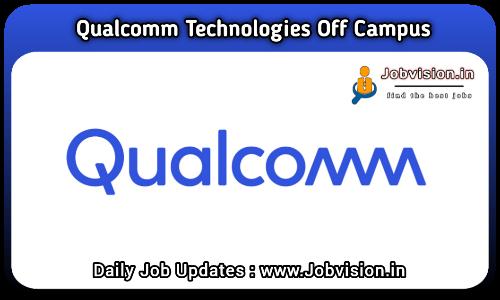 Qualcomm Technologies Off Campus Drive 2021
