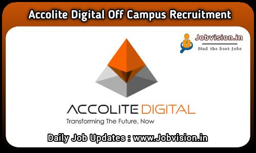 Accolite Digital Off Campus Drive 2021