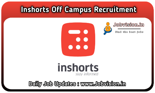 Inshorts Off Campus Drive 2021