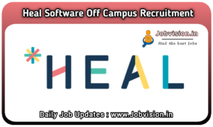 Heal Software Off Campus Drive