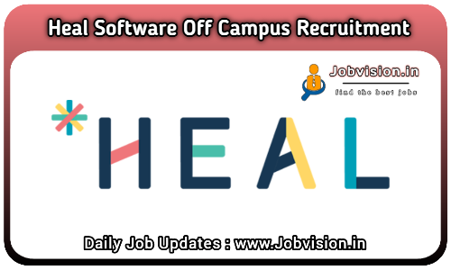 Heal Software Off Campus Drive 2021
