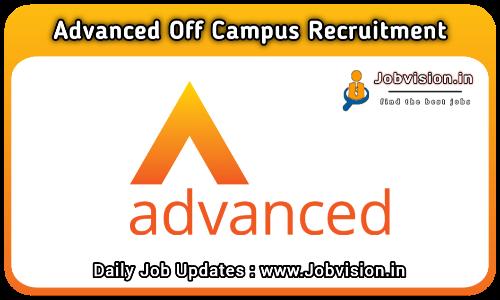Advanced Recruitment 2021