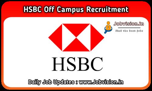 HSBC Bank Recruitment 2021