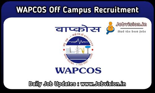 WAPCOS Limited Recruitment 2021