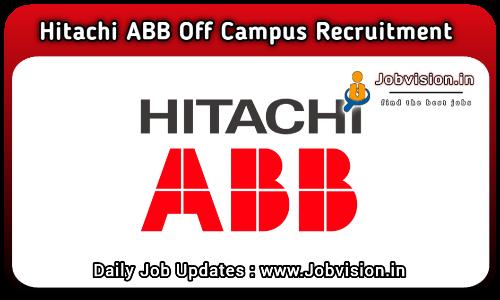 Hitachi ABB Recruitment 2021