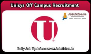 Unisys Recruitment