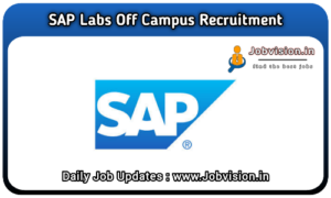 SAP Labs Off Campus Drive