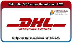 DHL India Recruitment