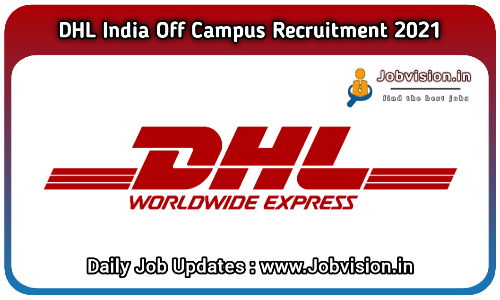 DHL India Recruitment 2021