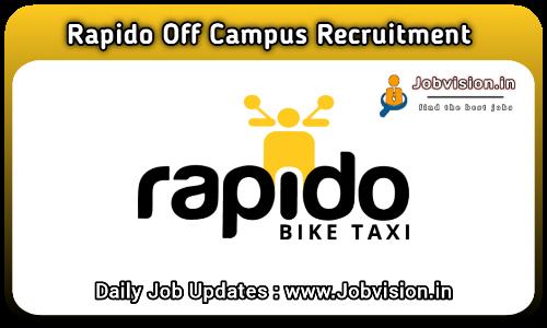 Rapido Off Campus Drive 2021