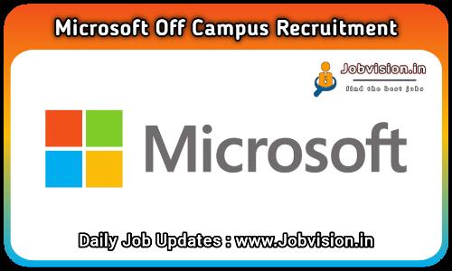 Microsoft Off Campus Drive 2021