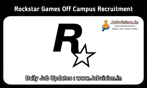 Rockstar Games Recruitment 2021
