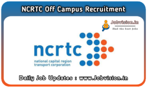 NCRTC Recruitment
