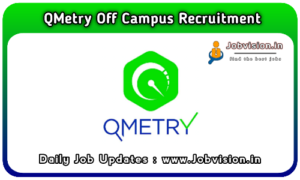 QMetry Off Campus Drive