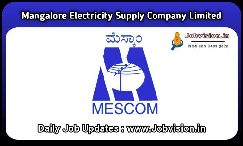 MESCOM Recruitment 2021