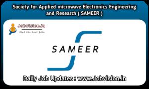 SAMEER Chennai Recruitment