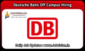 Deutsche Bahn Off Campus Hiring