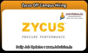 Zycus Off Campus Hiring