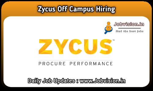 Zycus Off Campus Hiring 2021