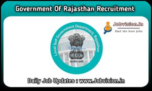 LSG Rajasthan Recruitment