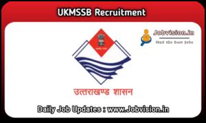 UKMSSB Recruitment