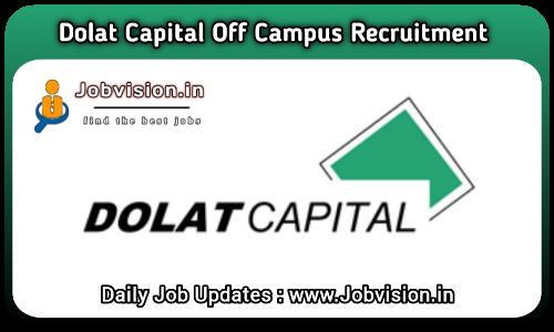 Dolat Capital Off Campus Drive 2021