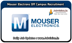 Mouser Electronics Recruitment