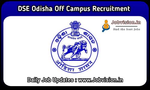 DSE Odisha Recruitment 2021