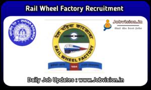 RWF - Rail Wheel Factory Recruitment
