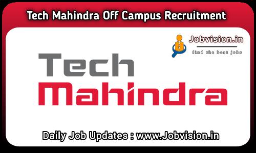 Tech Mahindra Off Campus Drive 2021