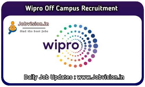 Wipro Off Campus Hiring 2022 (NTH)