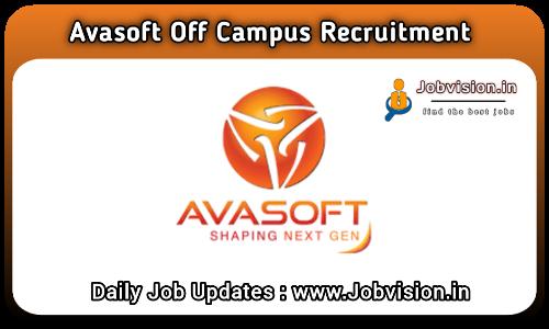 Avasoft Off Campus Drive 2021