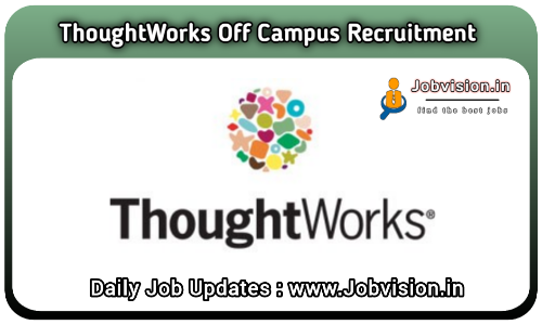 ThoughtWorks Off Campus Drive 2021