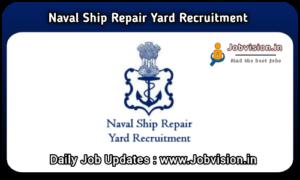 Naval Ship Repair Yard Recruitment