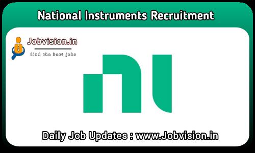 National Instruments Hiring 2021